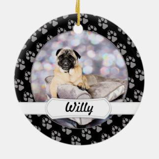 Pug - Willy Ceramic Ornament