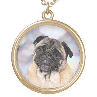 Pug - Willy Gold Plated Necklace