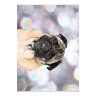 Pug - Willy Magnetic Card