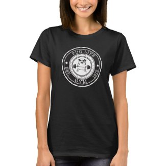 Pug Workout Weights Health Shirt
