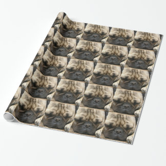 Pug Wrapping Paper