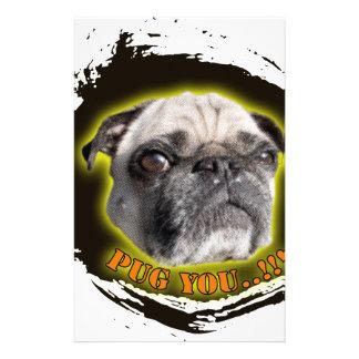 Pug you...! stationery