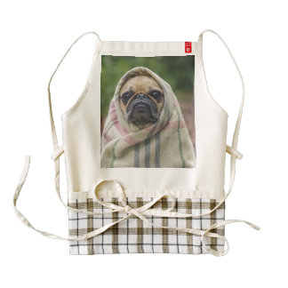 Pug Zazzle HEART Apron