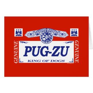 Pug-Zu Card