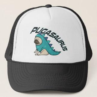 Pugasaurus Trucker Hat