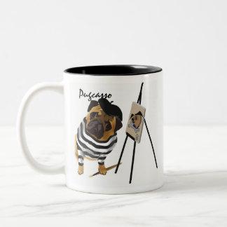 Pugcasso Mug