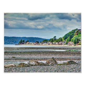 Puget Sound At Low Tide Photo