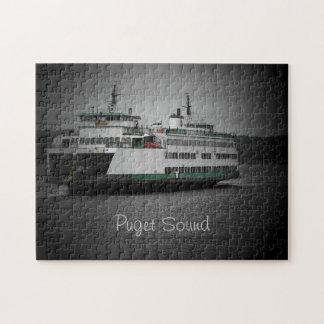 Puget Sound Ferry Jigsaw Puzzle
