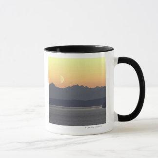 Puget Sound Moonset Mug