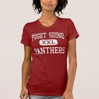 Puget Sound - panteras - alto - Washington de Camisetas