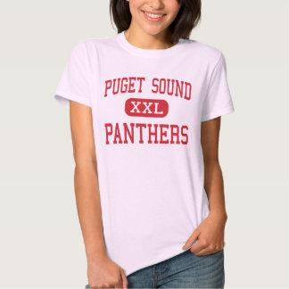 Puget Sound - Panthers - High - Lacey Washington Tee Shirt