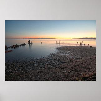 Puget Sound Sunset Print