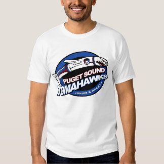 Puget Sound Tomahawks Logo Tee Shirt