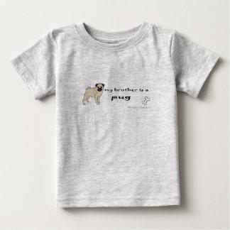 PugFullBodyBrother Baby T-Shirt