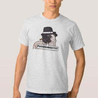 Puggedaboutit! Pu Mobster American Apparel T-Shirt
