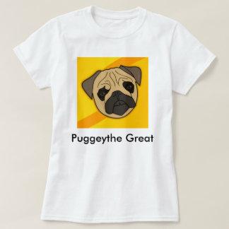 Puggeythe Great Pug Shirt Womens