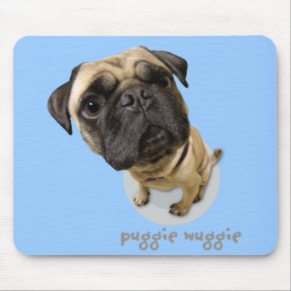 Puggie Wuggie Mouse Pad