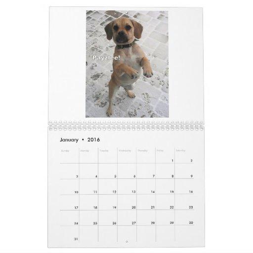 Puggle! 2013 Calendar