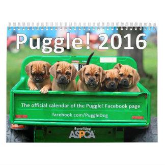 Puggle! 2016 Calendar