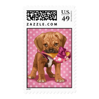 Puggle and shoe stamp