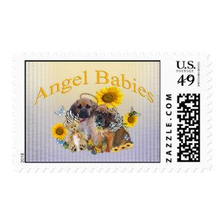 Puggle Angel Baby  Postage