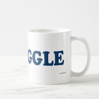 Puggle Blue Coffee Mug