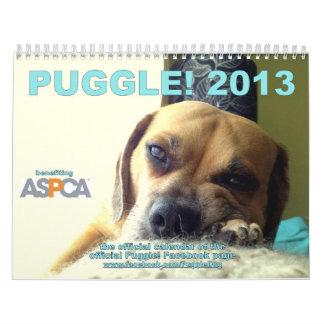 ¡Puggle! Calendario 2013