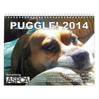 ¡PUGGLE! Calendario 2014