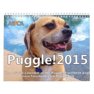 ¡Puggle! Calendario 2015