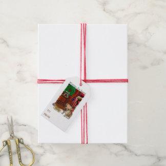 Puggle Christmas Gift Tags