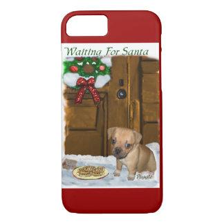 Puggle Christmas iPhone 7 Case