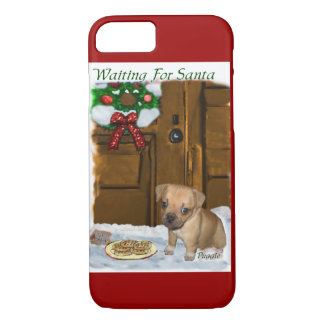 Puggle Christmas iPhone 8/7 Case