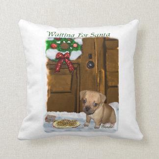 Puggle Christmas Pillows