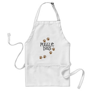 Puggle Dad Adult Apron