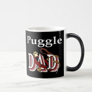 Puggle Dad Gifts Magic Mug