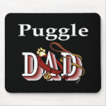 Puggle Dad Gifts Mouse Pad