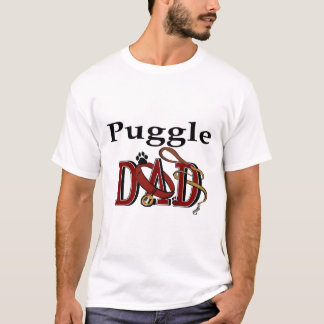 Puggle Dad Gifts T-Shirt