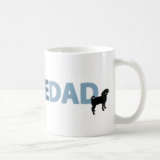 Puggle Dad Classic White Coffee Mug
