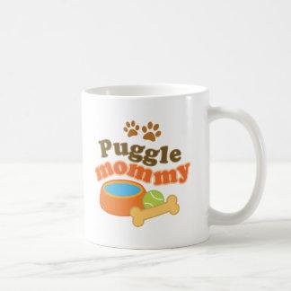 Puggle Dog Breed Mommy Gift Coffee Mug