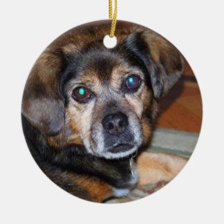 Puggle Dog Ornament