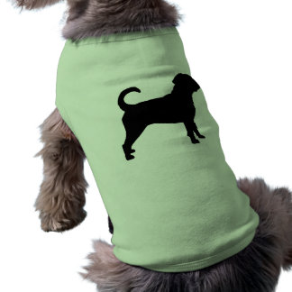 Puggle Dog Silhouette Pet Shirt