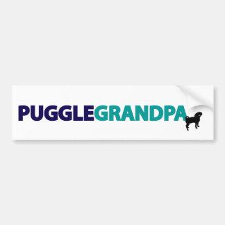 Puggle Grandpa Bumper Sticker
