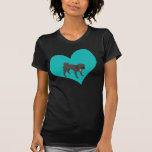 Puggle Love T Shirt