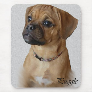 Puggle Lovers Gifts Mouse Pad