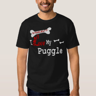Puggle Lovers Gifts T-Shirt