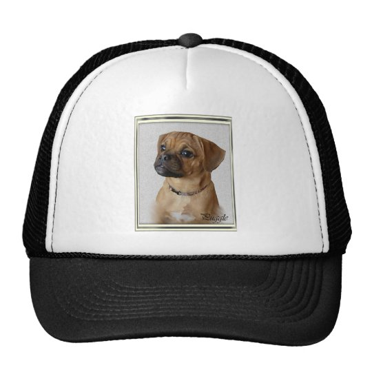 Puggle Lovers Gifts Trucker Hat
