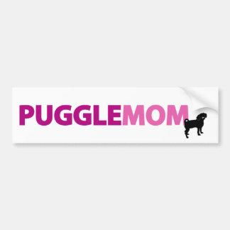 Puggle Mom Bumper Sticker