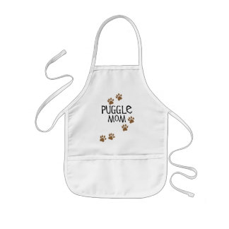 Puggle Mom Kids' Apron