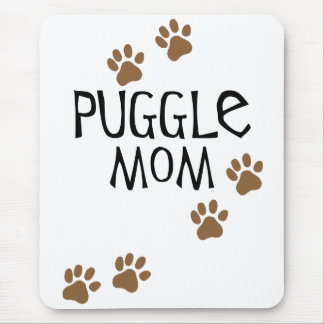 Puggle Mom Mouse Pad