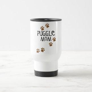 Puggle Mom Travel Mug